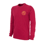 COPA Football AS Roma 1941-42 Long Sleeve Red Retro Shirt