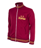 COPA Football AS Roma 1974-75 Long Sleeve Red and Yellow Jacket