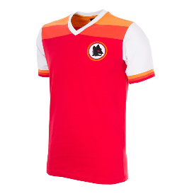 COPA AS ROMA 1978-79 Short Sleeve Retro Shirt