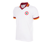 COPA Football AS Roma 1980-81 Away Short Sleeve White Retro Shirt