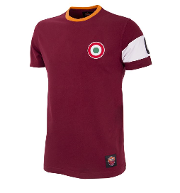 COPA Football AS Roma Captain Short Sleeve Red T-Shirt