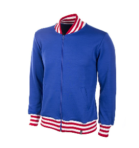 COPA England 1966 Retro Jacket, Long Sleeve, Blue Front View
