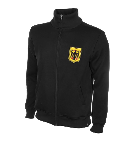 COPA Germany 1960 Retro Jacket, Long Sleeve, Black, Front View