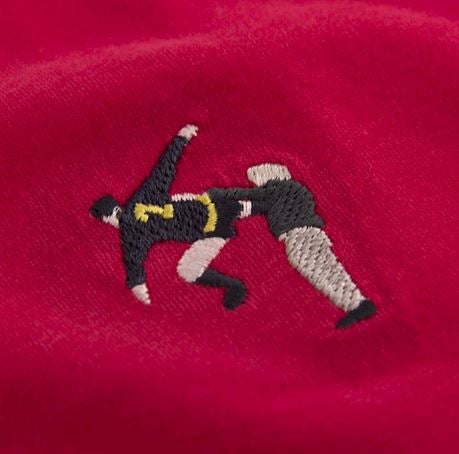 COPA Football Kung Fu Embroidery T-Shirt, Red