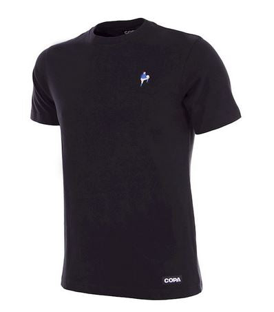 COPA Football Live Is Life Embroidery T-Shirt, Black