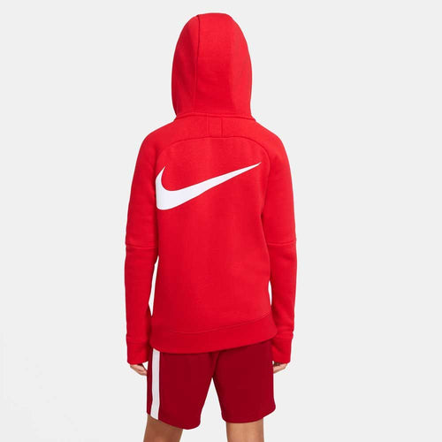 Kids Liverpool Fleece Hoody - Red