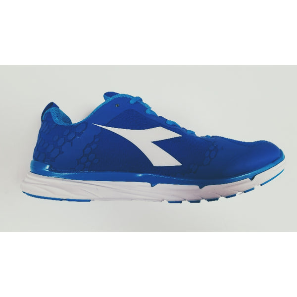 Diadora NJ-303-01 RS Training Shoe, Royal, Side View