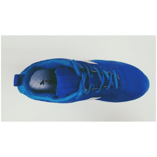 Diadora NJ-303-01 RS Training Shoe, Royal, Aerial View