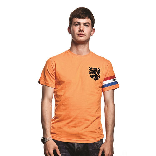 COPA Football Dutch Captain Short Sleeve Orange T-Shirt