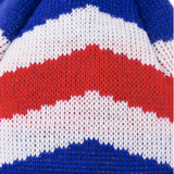 A picture of the design aesthetic for an England Beanie
