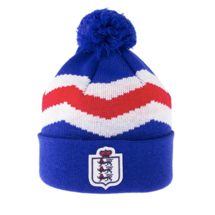front view of an England Beanie