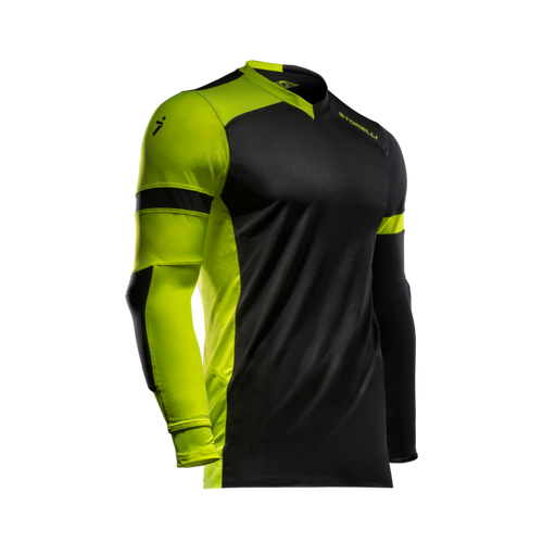 Storelli ExoShield Gladiator Goalkeeper Jersey, Long Sleeve, Black