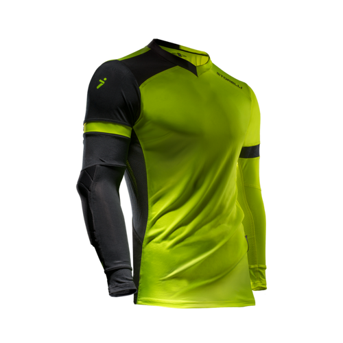 Storelli ExoShield Gladiator Goalkeeper Jersey, Long Sleeve, Fluo