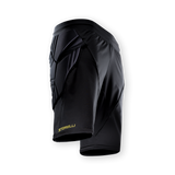 Storelli ExoShield Goalkeeper Shorts, Black