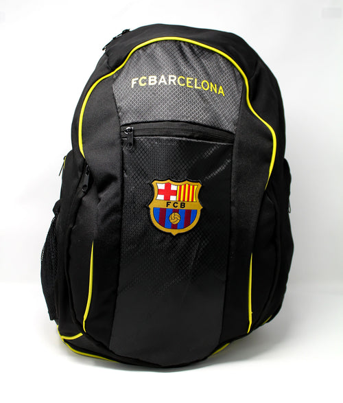 FC Barcelona Club Backpack, Black, Front View