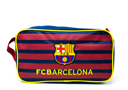 FC Barcelona Messi 10 Burgundy & Blue Boot Bag, Back View