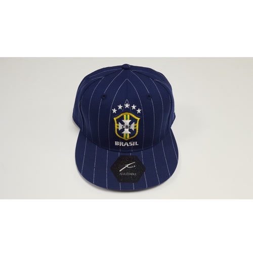 Fi Collection Brazil Pinstripe Cap, Blue