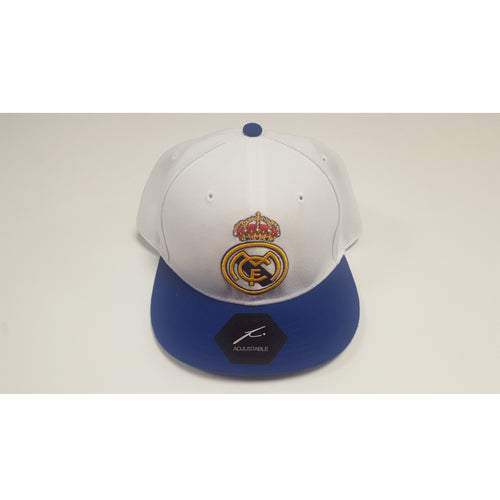 Fi Collection Real Madrid Snapback Cap, White & Blue