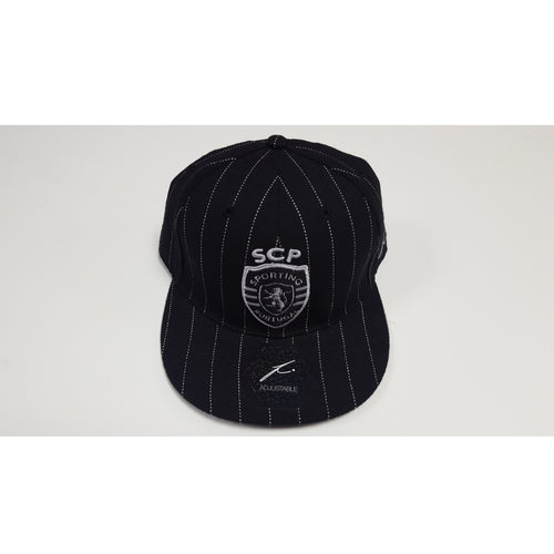 Fi Collection Sporting Clube de Portugal Pinstripe Cap, Black