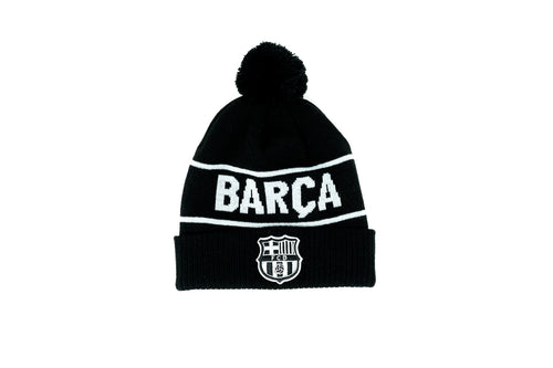 Fi Collection FC Barcelona Knitted POM Beanie '19