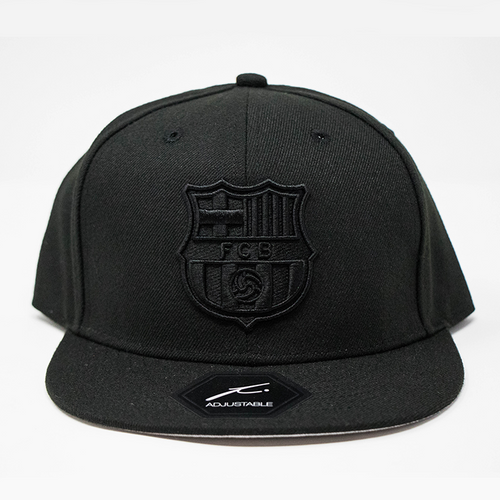 Fi Collection FC Barcelona Flat Cap, Black