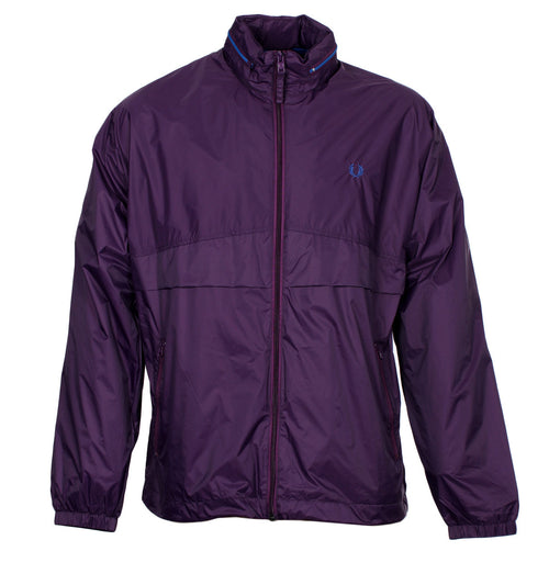 Fred Perry Packaway Jacket Purple
