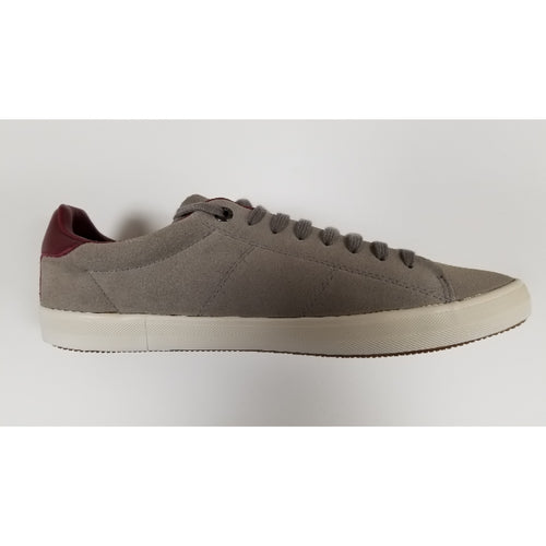 Fred Perry Howell Suede, Grey, Side View