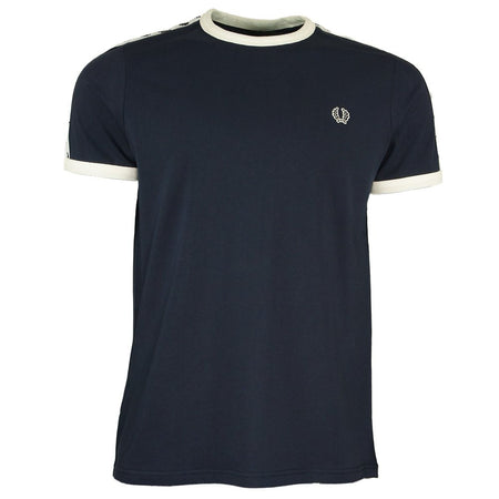 Fred Perry Loopback Full Zip Hoodie Navy