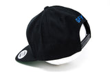 GFY Alternate Cap, Black & Royal, Back