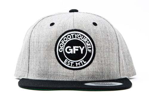 GFY Classic Cap - Heather/Black
