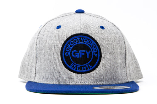 GFY Classic Cap - Heather Blue