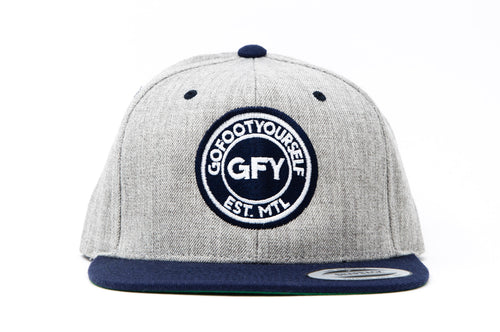 GFY Classic Cap - Heather Navy