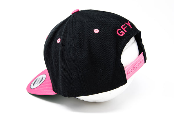 GFY Classic Cap, Neon Pink, Back