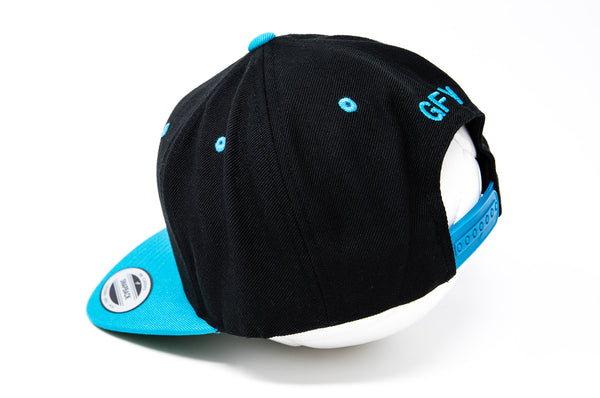 GFY Classic Cap, Neon Teal, Back