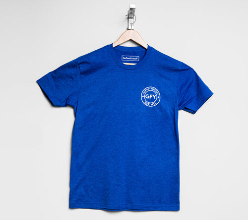 GFY Off-Set T-Shirt - Royal