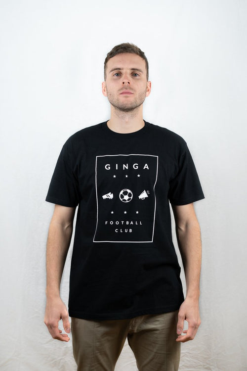 Ginga FC Ginga T-Shirt - Black