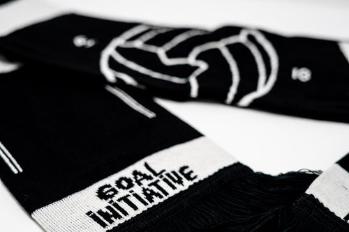 GI Global Community Scarf, Black & White