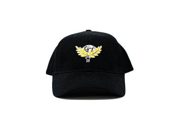 GI Hat, Black, Front View