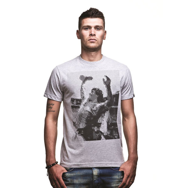 COPA Football Iconic Short Sleeve Grey T-Shirt