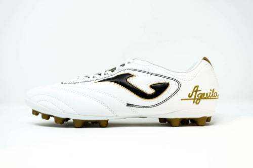 Joma Aguila Soccer Cleats - White/Gold