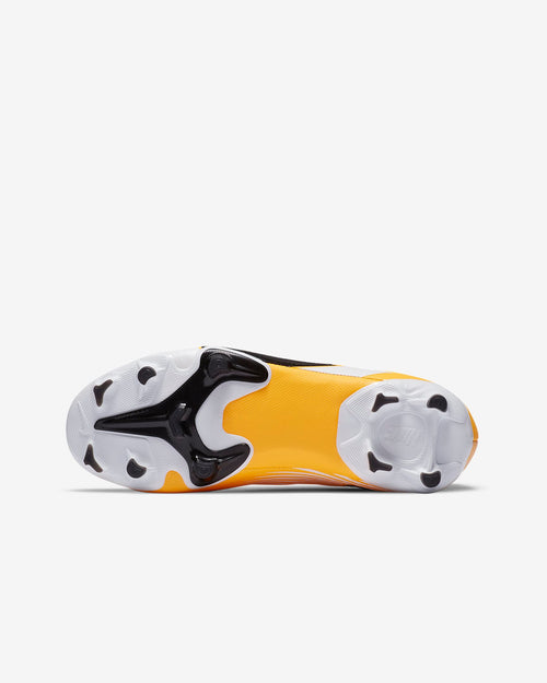 Kids Nike Mercurial Vapor 13 Academy FG Soccer Cleats - Yellow/White