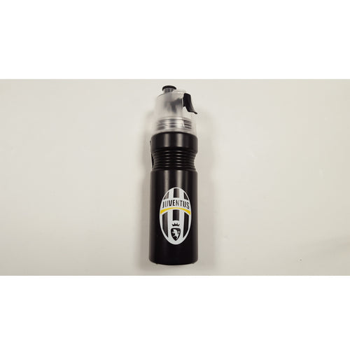 Juventus Black Spray Water Bottle