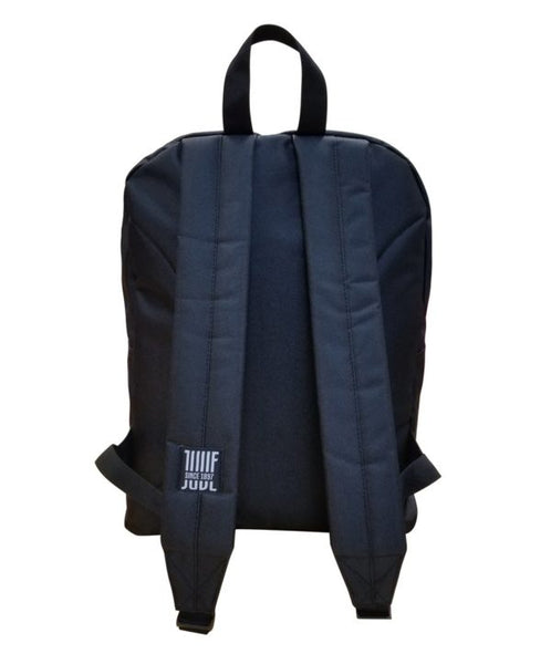 Juventus Club Backpack , Black & White, Back View