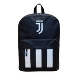 Juventus Club Backpack, Black & White, Front View