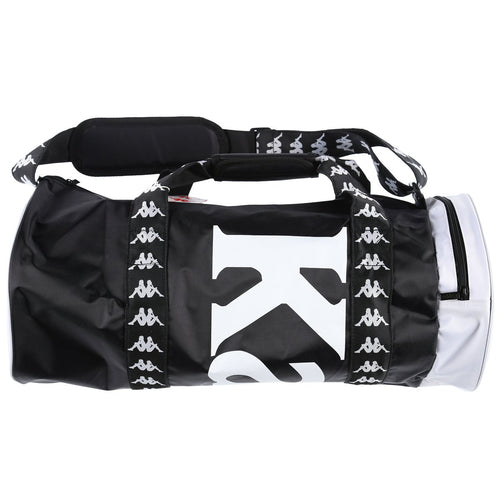 Kappa Duffle Bag, Black & White