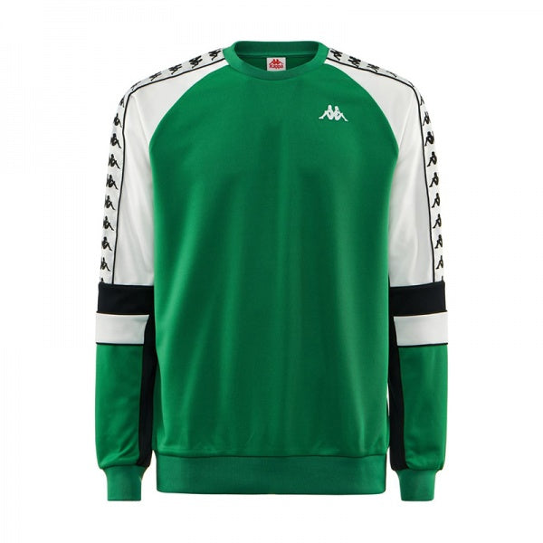 Kappa Regular Fit Crew, Green,