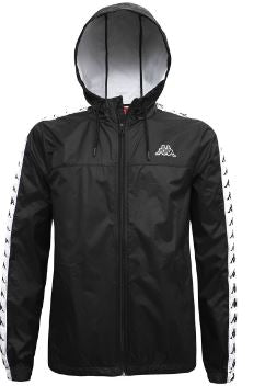 Kappa Rain Jacket - Black