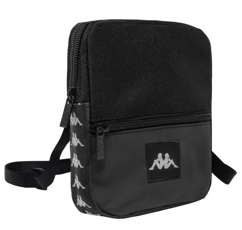 Kappa Shoulder Bag, Black, Adult Size