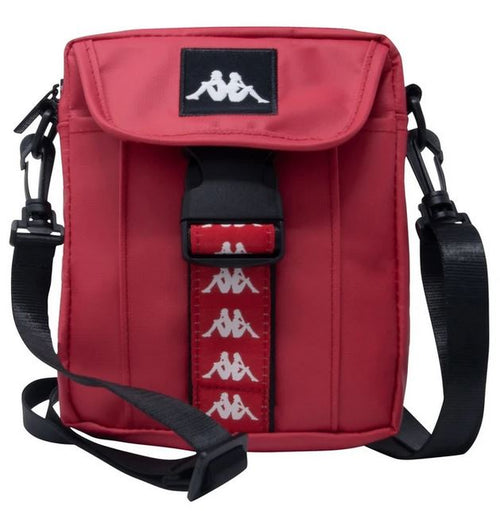 Kappa Cross-Body Bag, Red, Unisex