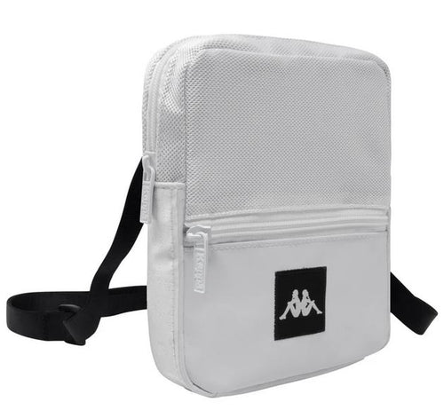 Kappa Shoulder Bag, White, Adult Size